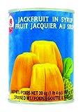 Fruit de Jacquier thaïlandais au sirop en conserve par lot - Marque Coq - Fruits exotiques - 565G (4 boîtes)