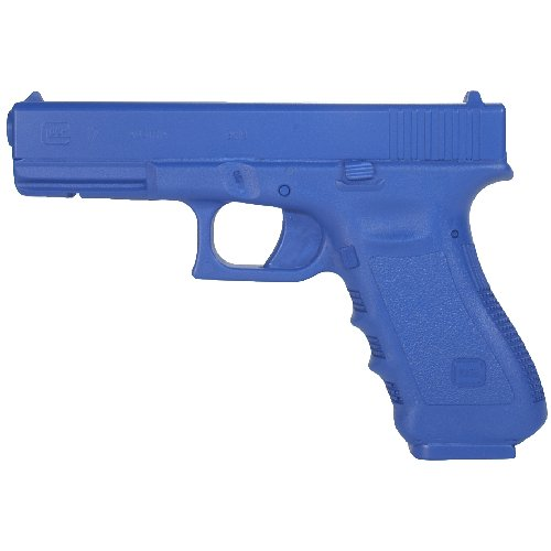 BlueGuns Training Replica Handgun, Weighted, Blue, Compatible with Glock 17 22 31 Generation 4