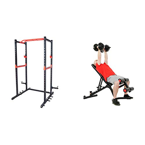 Sunny Health And Fitness Power Zone Strength Rack
