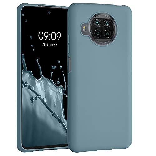 kwmobile Hülle kompatibel mit Xiaomi Mi 10T Lite - Hülle Silikon - Soft Handyhülle - Handy Hülle in Arctic Blue