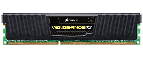 Corsair Vengeance Low Profile - Módulo de Memoria XMP de Alto Rendimiento de 8 GB (1 x 8 GB, DDR3, 1600 MHz, CL10), Negro (CML8GX3M1A1600C10)
