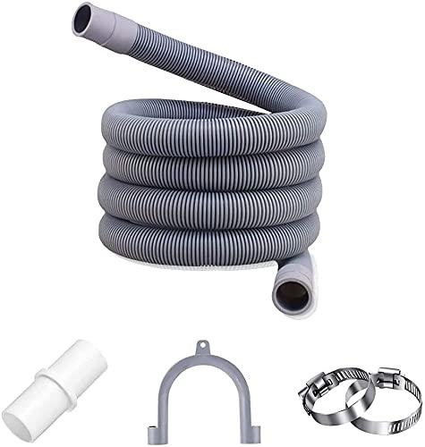 Abflussschlauch für Waschmaschinen,Ablaufschlauch Verlängerung,Zulaufschlauch Wasserschlauch,Ablaufschlauch Geschirrspüler Verlängerung,Abwasserschlauch Verlängerung Spülmaschine