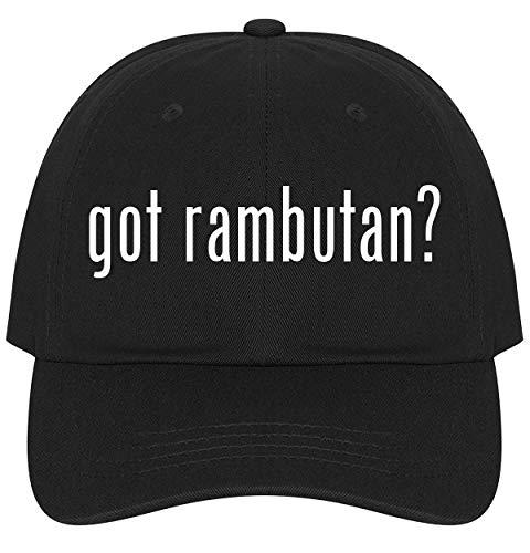 got rambutan? - Ultra Soft Dad Hat Baseball Cap, Black, One Size