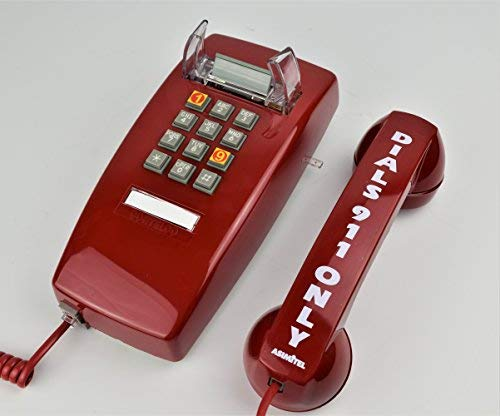 Price comparison product image Emergency Dedicated 911 Only Wall Phone (Line Powered / No A / C Required)
