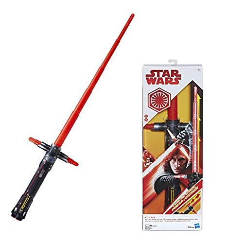 Hasbro Star Wars Movie FX Lichtschwert Kylo-Ren, mit Licht- und Soundeffekten, 60 cm lang