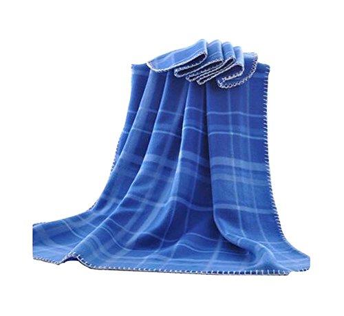 Été confortable Bureau de ménage Lazy Throw Blanket, 100x150cm / 39x59 pouces
