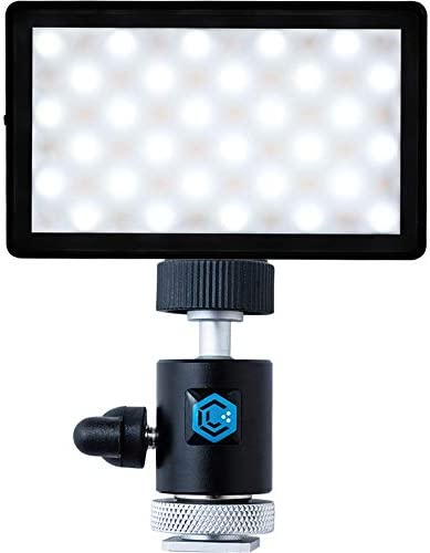 Lume Cube Panel Mini with DSLR Camera Mount Bundle Bicolor Continuous LED Video Light Made for product image