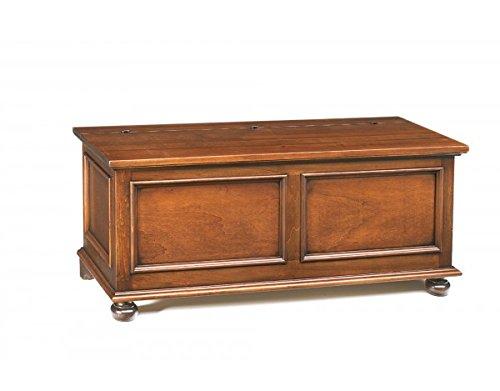 Vintagehome - Cassapanca in legno, 120x 44x 51 cm (L x P x A)