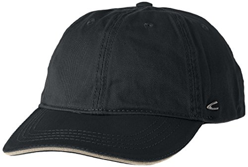 Camel Active Herren 9C09 Baseball Cap, Schwarz (BLACK 9), Large