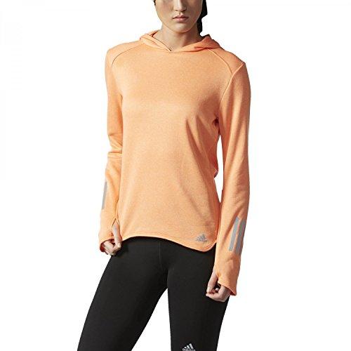 adidas Damen Response Astro Hoodie Longsleeve, Easy Orange, XS