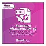 Foxit Phantom PDF Standerd 10(日本語版)|ダウンロード版