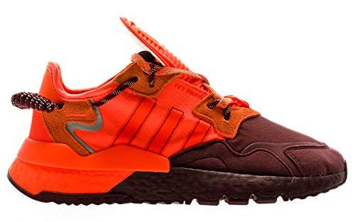 adidas Originals IVP Nite Jogger, Maroon-Solar Orange-Solar Orange