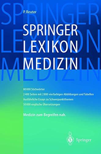 Springer Lexikon Medizin (Springer-Wörterbuch)