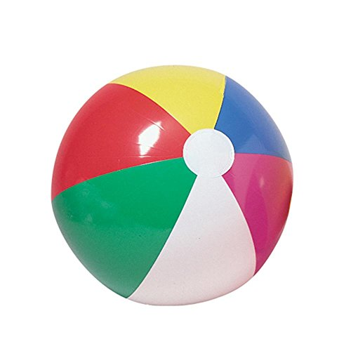 U.S. Toy IN168 Beachball Inflates, 12 x 8