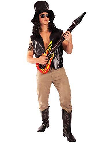 ORION COSTUMES Herren Slash 80er Jahre Rock Star MusikKostüm