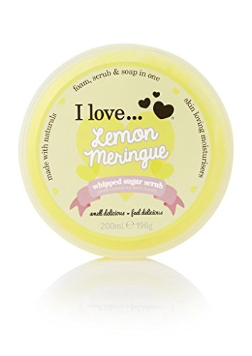 I Love Whipped Sugar Scrub Lemon Meringue 200ml