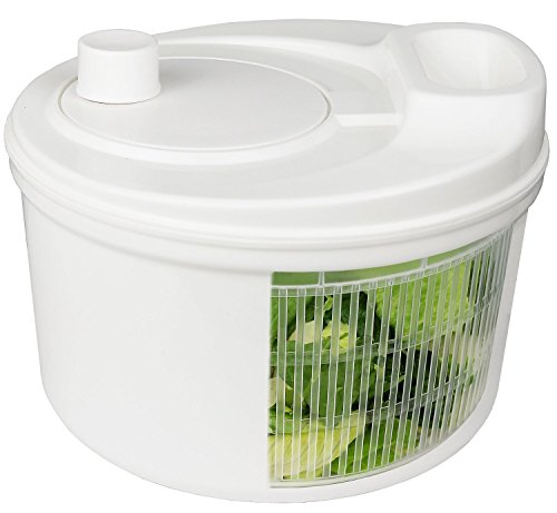 Greenco GRC0274 Easy Spin Manual Salad Spinner
