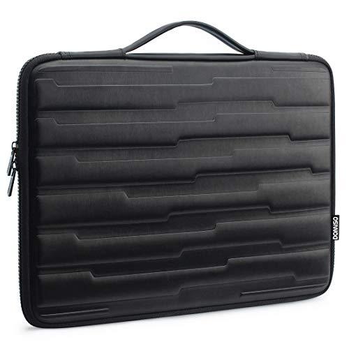 DOMISO 17 Zoll Wasserdicht Laptophülle EVA Laptop Sleeve Case Notebook Hülle Tasche Schutzhülle für 17.3