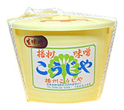 兵庫県 播州こうじや 播州こうじや甘口粗塩使用 手作り味噌 5kg (ポリ樽入り)