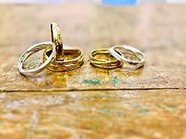 Anillo boda realizado a mano personalizado