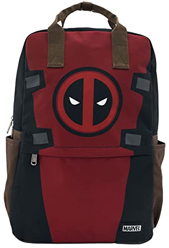 Loungefly Deadpool Cosplay Square Nylon Backpack - ST