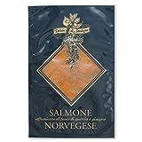 Salmone Norvegese affumicato con fumo di legno vero preaffettato 100gr prodotto in Italia