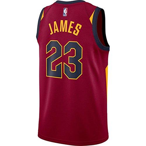 James Herren Trikot Weiß Maroon Cavaliers Swingman Jersey Shirt 17/18 XL kastanienbraun