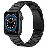 Spigen Modern Fit Compatible con Apple Watch Correa Band para 42 mm / 44 mm Series 6/SE/5/4/3/2/1 - Negro