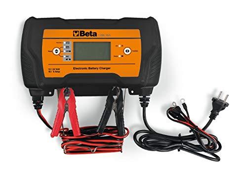 BETA - 1498/16A Cargador electrónico de baterías multifunciones 12-24 V