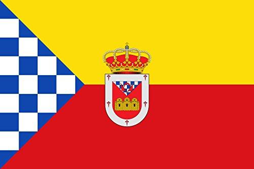 magFlags Bandera Large Alcuéscar, Cáceres, España | Bandera Paisaje | 1.35m² | 90x150cm
