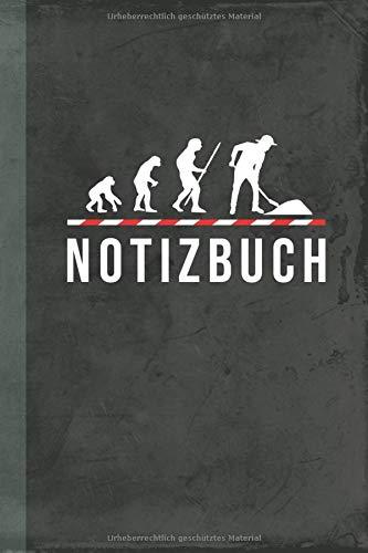 Notizbuch: Straßenbauer (Bauwirtschaft Schreibwaren) (German Edition)