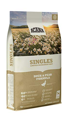 ACANA Singles Limited Ingredient Dry Dog Food, Duck & Pear, Biologically Appropriate & Grain Free