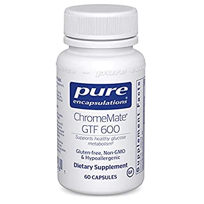 Pure Encapsulations ChromeMate GTF 600   Supplement for Blood Sugar, Metabolism, and Lean Muscle*