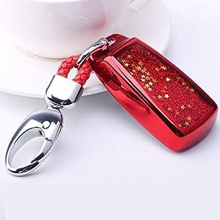 Star Quicksand Tpu Car Smart Remote Key Cover Protective Case Holder For Audi A8L A6L A7 A6 C8 A8 Q8 2018 2019 2020 Access...