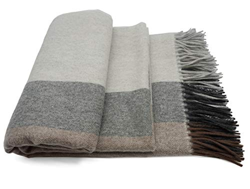 Fishery Finery 100% Pure Cashmere Throw Blanket