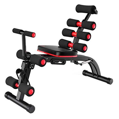 Ayuda para Sentarse Prensa de piernas Multifuncional para Abdomen Equipo de Fitness...