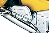 Kuryakyn 7015 Motorcycle Foot Control Component: Passenger Floorboard Covers for Honda Gold Wing GL1800 Motorcycles, Chrome, 1 Pair