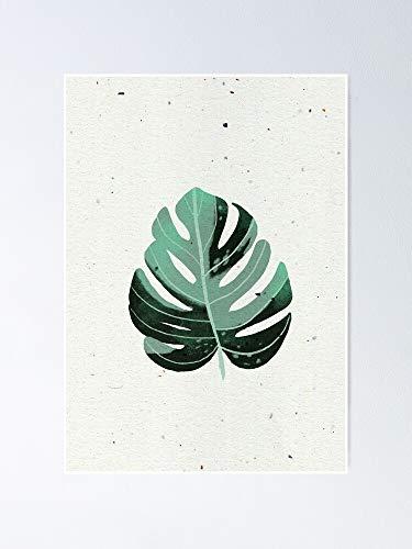 AZSTEEL Monstera Leaf Poster