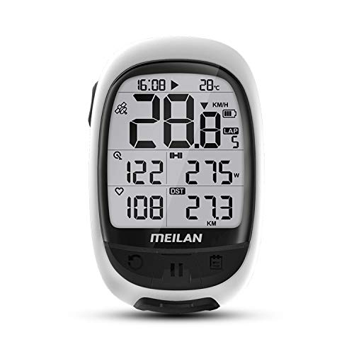 MEILAN GPS Core Bike Computer M2 Bluetooth ANT+ Connect with HR Monitor Power meater