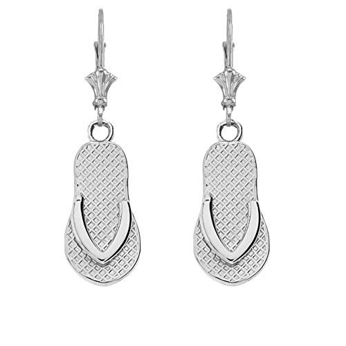 Flip Flop Ohrringe in Sterling Silber