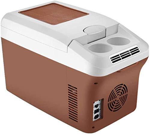 Mini nevera, 15L de refrigerador de refrigerador para refrigerador Pequeño nevera Portátil 12V / 24V / 220V Mini hogar Los camiones y autobuses grandes se pueden usar para enfriar y calefacción