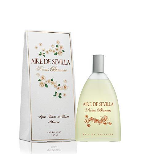 Aire de Sevilla, eau de toilette aroma rosas blancas- 150 ml