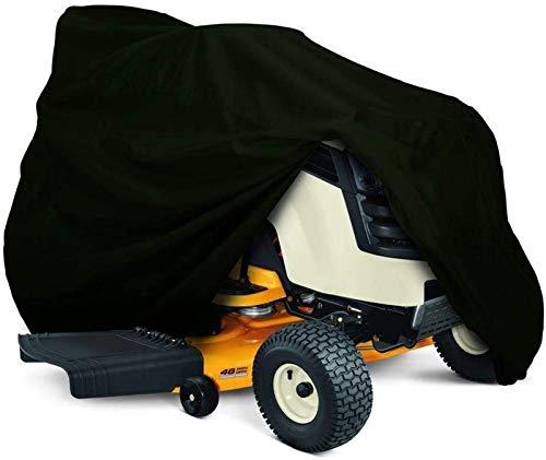 Cubierta para Tractor cortacésped para Montar, Cubierta de Almacenamiento de poliéster Oxford 210D, protección UV Impermeable al Aire Libre (Color : S)
