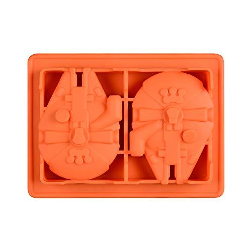 XHJLNNY XINHEJULN Moldes de decoración de Pasteles, moldes de Silicona para Hornear, Caramelos de Chocolate, Postre de Dulce de azúcar moldes de Helado Exquisita aplicación (Color : Pink)