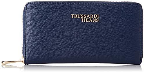 Trussardi Jeans T Easy Light 3 Pocket LG Saffi, Portafoglio Donna, Blu (Navy...