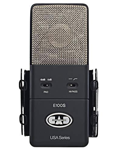 CAD Audio Condenser Microphone, Black (AMS-E100S)
