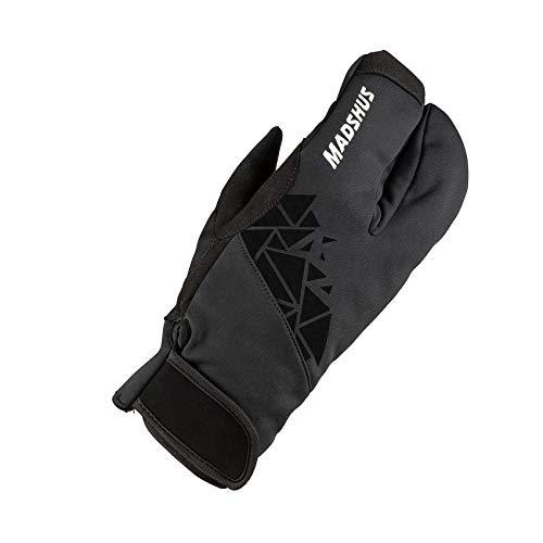 Madshus Unisex-Erwachsene Lobster MITT Handschuhe, Schwarz, 8