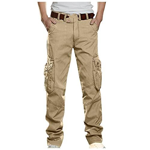 NP Pantalones de Hombres en mi Pantalones Pantalones Casuales Rectos para Hombres.