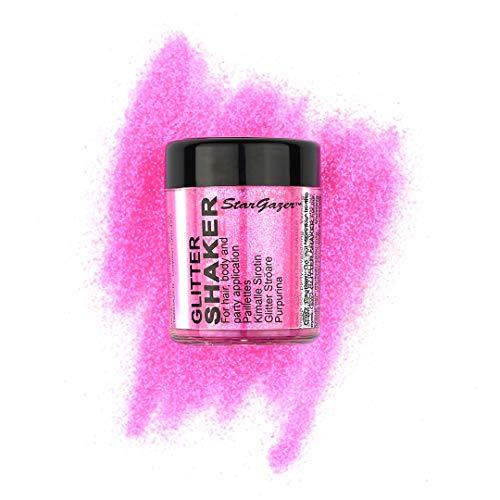Stargazer Products Glitzer Streudose,UV pink, 1er Pack (1 x 5 g)