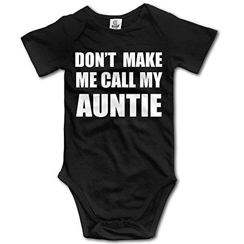RuiShuoPiCao Baby laat me niet mijn tante Bodysuit Romper Playsuit Outfits bellen